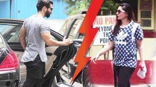 Kareena Kapoor Khan ENCOUNTERS Shahid Kapoor At The Gym!