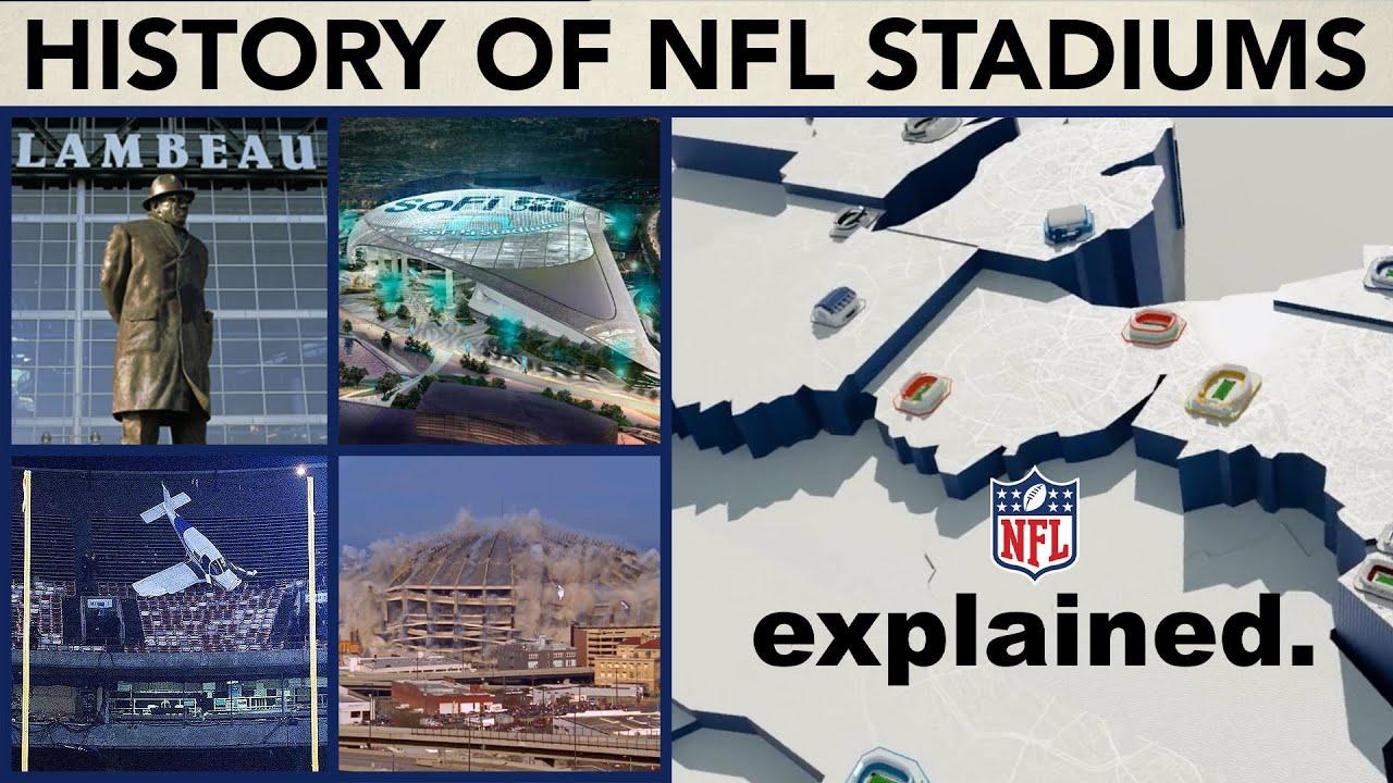 Evolution of Every NFL Team's EVERY Stadium   NFL Explained
