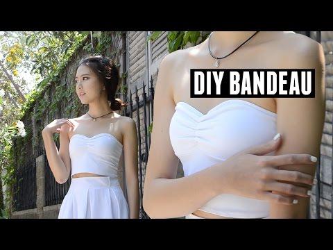 DIY Bandeau / Strapless Bralette