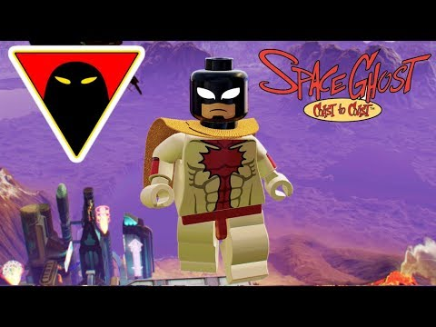 LEGO Marvel Super Heroes 2 Space Ghost Custom Character Free Roam Gameplay