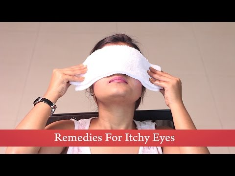 Home Remedies : Cold Compress for Itchy Eyes