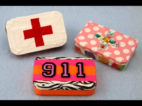 How to Make a Duct Tape and Altoid Tin First Aid Kit | Sophie's World