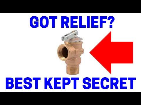 Water Heater Pressure Relief Valve Replacement