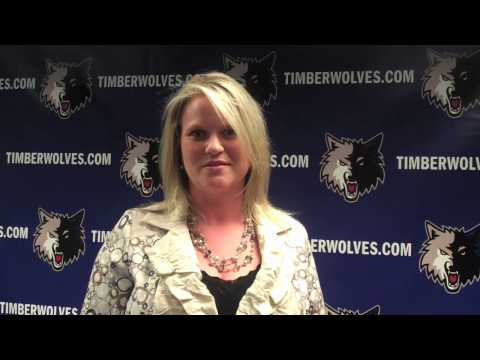 Timberwolves Support Helping Paws.mov