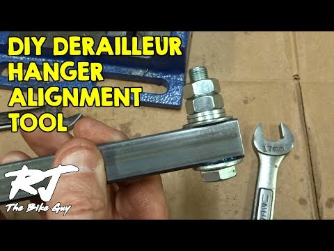 How To Make A Derailleur Hanger Alignment Gauge Tool