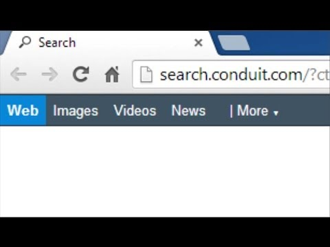 How do I remove search.conduit.com from my homepage/ new tab