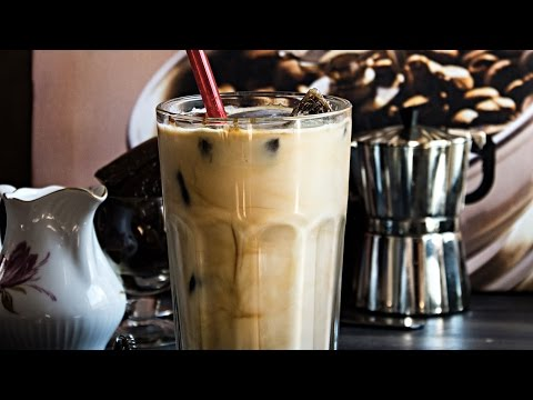 How To Make Vanilla Iced Mocha With Coffee Ice Cubes | Healthy and Easy Iced Mocha | Summer Drinks