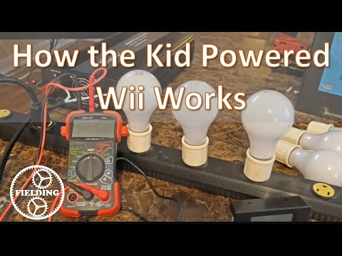 How the Kid Powered Video Game Works. A Followup Video. #60.