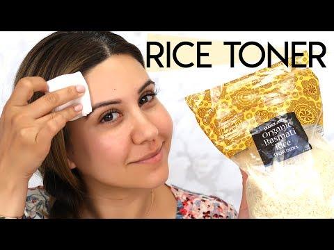 Rice Water Toner For Healthy Skin -  DIY!