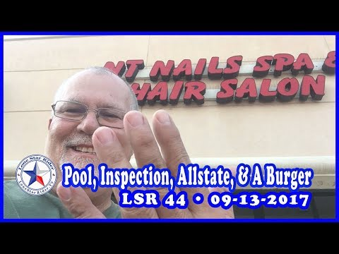 LSR 44: Pool, Motorcycle Inspection, Allstate, & A Burger • 09-13-2017