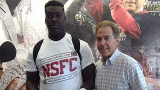 8th Grade Football Player Receives Scholarship Offer from Alabama