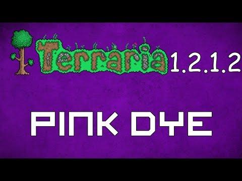 Pink Dye - Terraria 1.2.1.2 Guide New Dye!