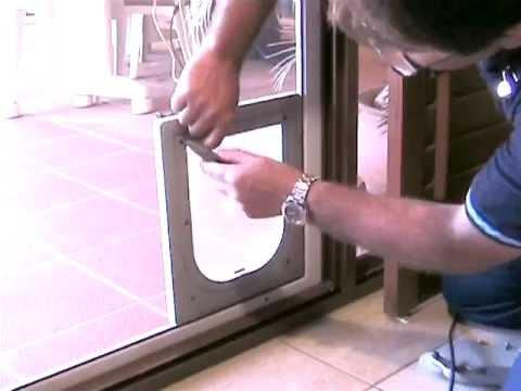 Petway Pet Doors - DIY Fitting Instructions - Insect Screen Door