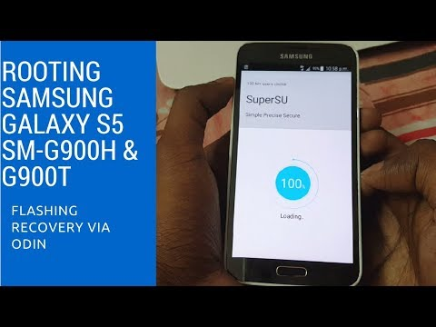 How to Root Samsung Galaxy S5 SM-G900H & G900T