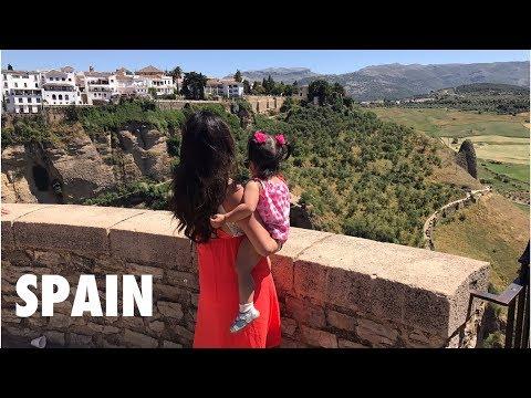 Spain Travels || Madrid, Malaga, Ronda, & Seville