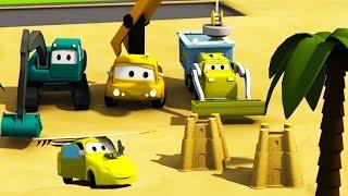 Carl el Camión Transformador y La Carretilla Elevadora en Auto City| Dibujos animados para niños