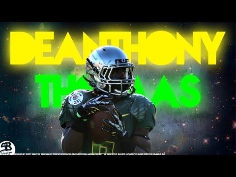 De'anthony Thomas Freshman Highlights (WARNING!: Explicit lyrics)