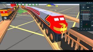 Galaxy railways IN trainz simulator  Read description