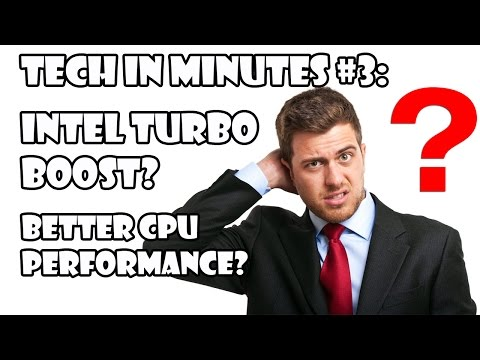 What Is Intel Turbo Boost Technology?-Tech in Minutes