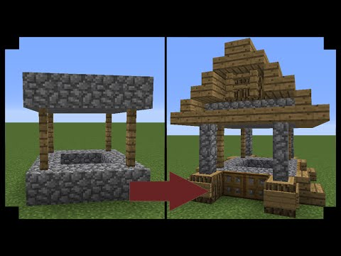 ✪Minecraft: How to upgrade a village well!