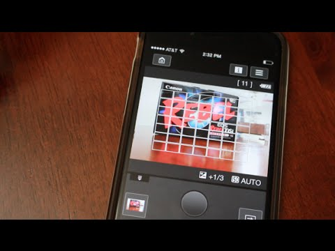 Reconnect Canon T6i To iPhone Smartphone WiFi And Canon Camera App