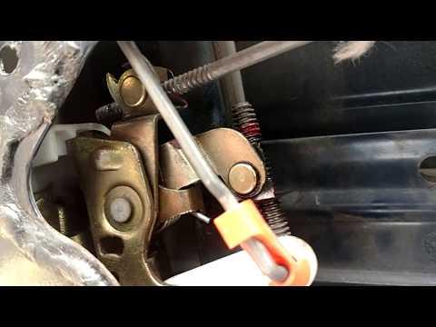2004 Jeep door handle adjustment