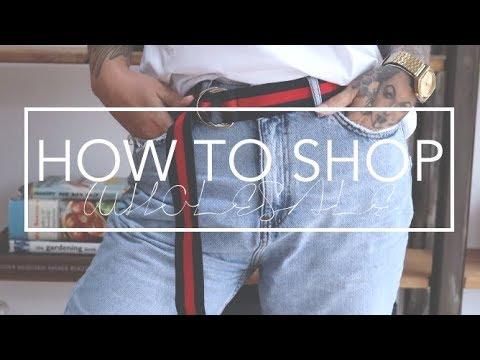 How To Shop Wholesale Clothing & Haul    KateLouiseBlog