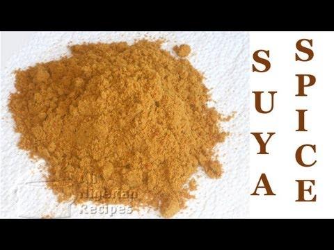 How to Make Nigerian Suya Spice (Suya Pepper or Yaji) | All Nigerian Recipes