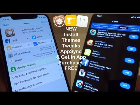 NEW Install Themes, Tweaks, AppSync & Get In App Purchases FREE iOS 11 - 11.1.2 iPhone iPad iPod