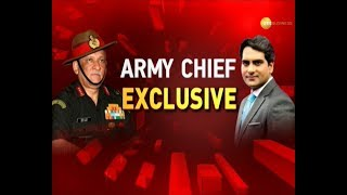 Exclusive: Army Chief Bipin Rawat speaks to Sudhir Chaudhary