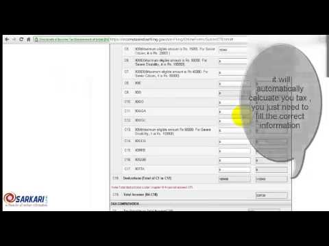 How to fill ITR online 2013-14?