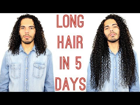 How To Get Long Curly Hair In 5 Days / Gio's Wave Tutorial