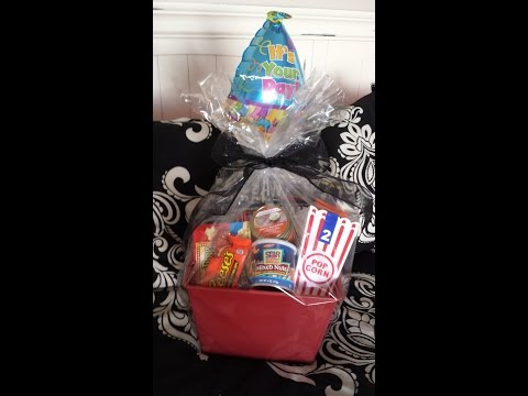 DIY Gift Basket for Men