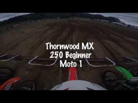 Thornwood MX   250 Beginner   Moto 1   7/31/2016