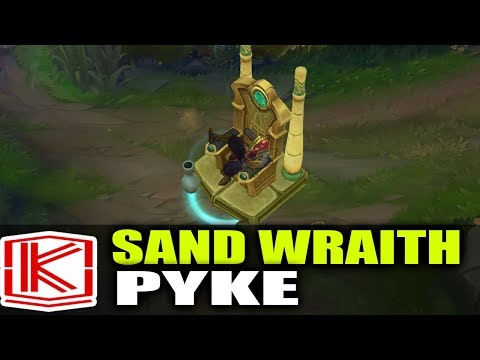 SAND WRAITH PYKE SKIN SPOTLIGHT - League of Legends