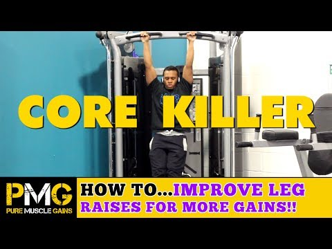 How to Improve Your Leg Raises for Maximum GAINS! | Core Workout Tips