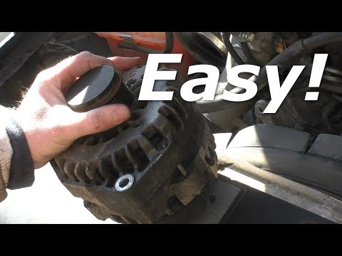 How to Replace the Alternator in a Duramax Chevy Truck