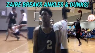 Zaire Wade Just BROKE ANKLES & Started THROWING DOWN! He