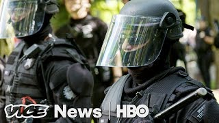 Left Wing Violence Trading Races Vice News Tonight Full Episode hbo