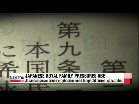 Japan′s royal family pressures Abe administration to correctly address history