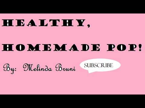 How to make healthy soda pop (simple and fast)