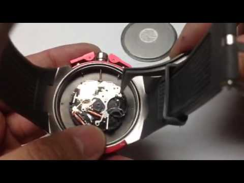 Armani Exchange AX1183 watch battery change