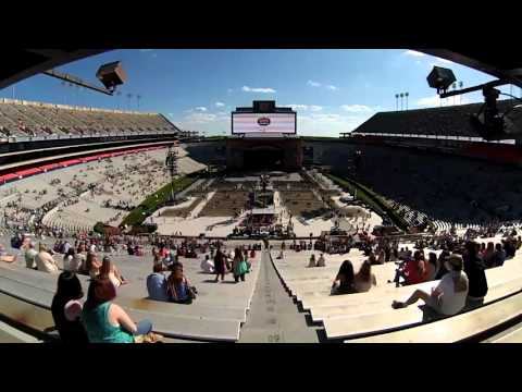 Time-lapse video of crowds entering first-ever concert at Auburn's Jordan-Hare Stadium