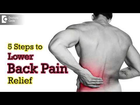 5 Steps to Lower Back Pain Relief - Dr. Ram Prabhoo