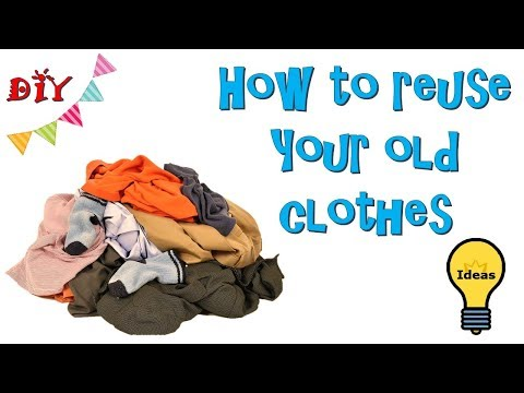 DIY |4 REUSE OF OLD CLOTHES | BEST OUT OF WASTE IDEAS | CLOTHES RECYCLING | OLD CLOTHES HACKS