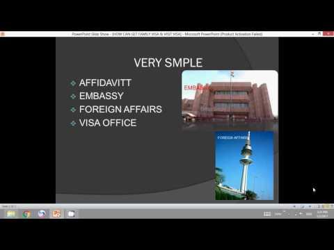 HOW CAN TAKE VISIT VISA