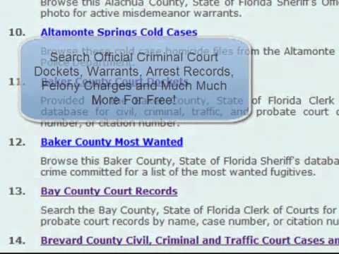 How To Check My Criminal Record For Free - FreeBackgroundCheck.org