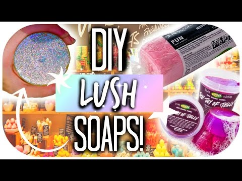 DIY Lush Soaps∞Shower Jelly+Fun Soap!∞