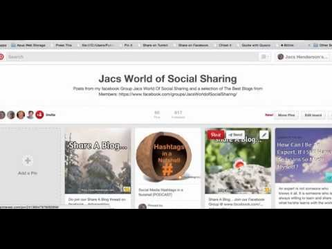 How To Create and Accept A Collaborative Board Invitation On Pinterest