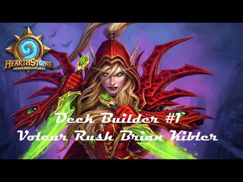 [HearthStone] Deck Builder #1 - Voleur Brian Kibler Partie 1